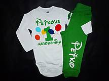 Detské oblečenie - Personalizovaný kompletík na 1 narodeniny - 4404350_