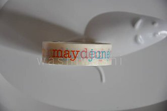 Papier - washi paska mesiace - 4406603_