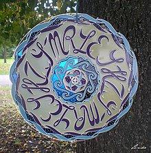 Dekorácie - Mandala..Symbolika v Písmenkách 2 - 4407850_