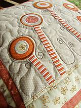 Úžitkový textil - V krajine zázrakov...prevedenie terakota, smotanová :)) - 4407398_