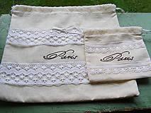 Úžitkový textil - Sada vreciek - Paris - 4409615_
