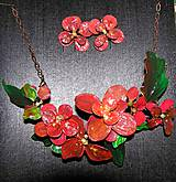 red flovers set
