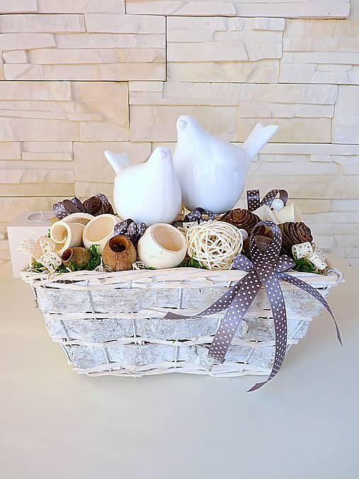 Biele vtáčiky...   MONIKA-D - SAShE.sk - Handmade Dekorácie ef6894f7b87