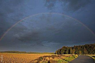 Fotografie - farebné doznievanie letnej búrky... - 4409731_