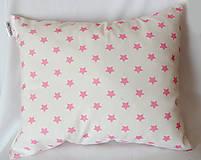 Úžitkový textil - Hviezdičkový vankúšik - 4414075_