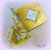 Papiernictvo - Zlatá cesta za láskou... - 4412645_