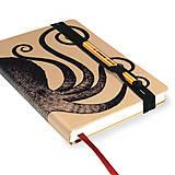 Papiernictvo - Zápisník A6 Chobotnica - 4415083_