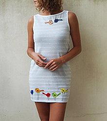 Šaty - Rainbow birds - dress - zľava 15% - 4415830_