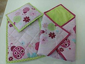 Textil - Detská súprava do detského kočíka - 4415708_