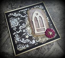 """Papiernictvo - Pohľadnica """"Gothic window"""" - 4421822_"""