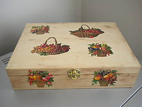 Krabičky - Krabička na čaj alebo šperkovnica 6-priehradková - 4420508_
