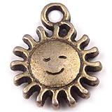 - Prívesok slnko 11x15 mm - 4418343_