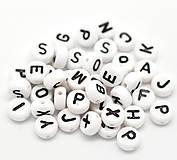 Korálky abeceda - balíček 100ks