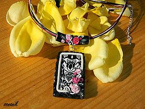 Náhrdelníky - Náhrdelník Garden Roses-HR150 - 4425515_