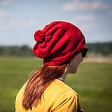 Čiapky - S červeným brmbolcom - 4423799_