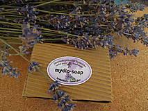 Drogéria - mydlo rezané levanduľové - 4426087_