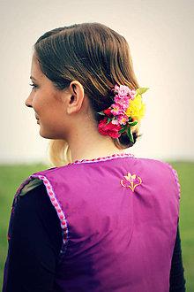 Iné oblečenie - Folk Vest - 4422757_
