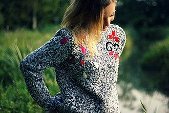 Svetre/Pulóvre - Grey Sweater - 4422938_