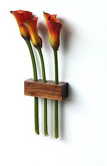 Dekorácie - Prírodné dekorácie - orechove drevo - 4424768_