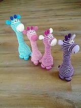 Hračky - Zirafule pasikave - na objednavku - 4425267_