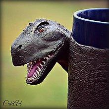Nádoby - Hrnček s dinosaurom - T-rex - 4422799_