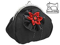 Kabelky - Dámska kabelka  čierna  0211 - 4427202_