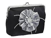 Kabelky - Spoločenská dámská kabelka , taštička 0840A - 4427457_