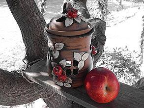 Nádoby - Pec s jablíčky - okýnka - 4428973_