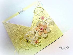 Papiernictvo - Shabby Chic pohladnička - 4426296_