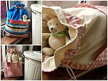 Detské tašky - VŠEÚČELOVEC -  na objednávku - 4430255_