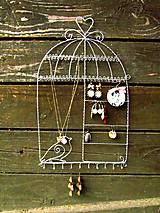 Nábytok - Veľký vešiak na šperky (36 cm) - 4428559_