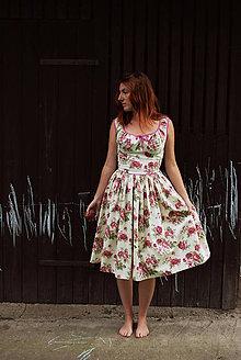 Šaty - romantic rose - 4433882_