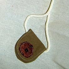 Kabelky - Červená kvapka- darček k objednávke - 4434443_