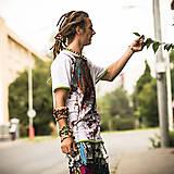 Oblečenie - Origo pánske tričko čáry máry - 4433606_