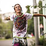 Oblečenie - Origo pánske tričko čáry máry - 4433611_