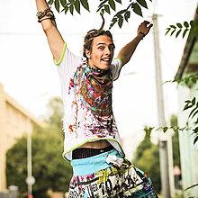 Oblečenie - Origo pánske tričko čáry máry - 4433604_