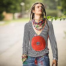 Tričká - Origo panske tričko pásik kruh X1 - 4433670_