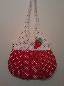 Veľké tašky - Šťavnaté jahody - 4436982_