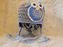Detské čiapky - Zimná...HÚÚÚ - 4434875_
