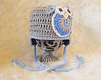 Detské čiapky - Zimná...HÚÚÚ - 4434877_