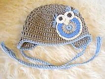 Detské čiapky - Zimná...HÚÚÚ - 4434879_