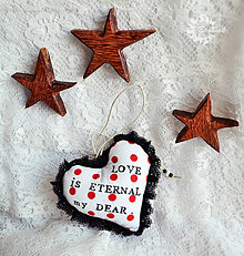 Dekorácie - LOVE is Eternal my Dear. - 4435962_