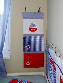 Textil - Vreckár *Námorník*100x36 - 4437699_
