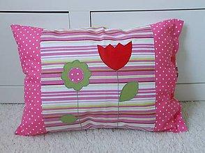 Úžitkový textil - Návliečka Ružová lúka-50x35 - 4437939_