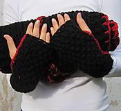 Rukavice - návleky ku KapuCňoŠáLu, Kapucke - 4434962_