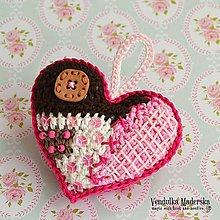 Návody a literatúra - Z mého patchworkového sveta - srdce - návod - 4434957_