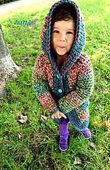 Detské oblečenie - Páslo dievča pávy. - 4436667_