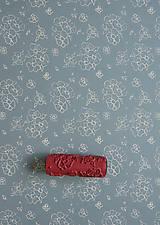 Pomôcky/Nástroje - vzorovaný maliarsky valček č.25 - 4441221_
