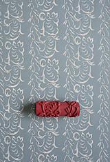 Pomôcky/Nástroje - vzorovaný maliarsky valček č.05 - 4441294_