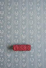 Pomôcky/Nástroje - vzorovaný maliarsky valček č.03 - 4441332_